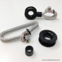 Block-shackle® friction - Manille textile & anneau