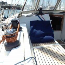 Coussin pour navigation en bateau