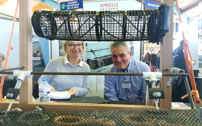 Nodus Factory développe des connecteurs textiles pour l'ostréiculture, la voile, le BTP